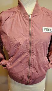Pink bomber jacket xs